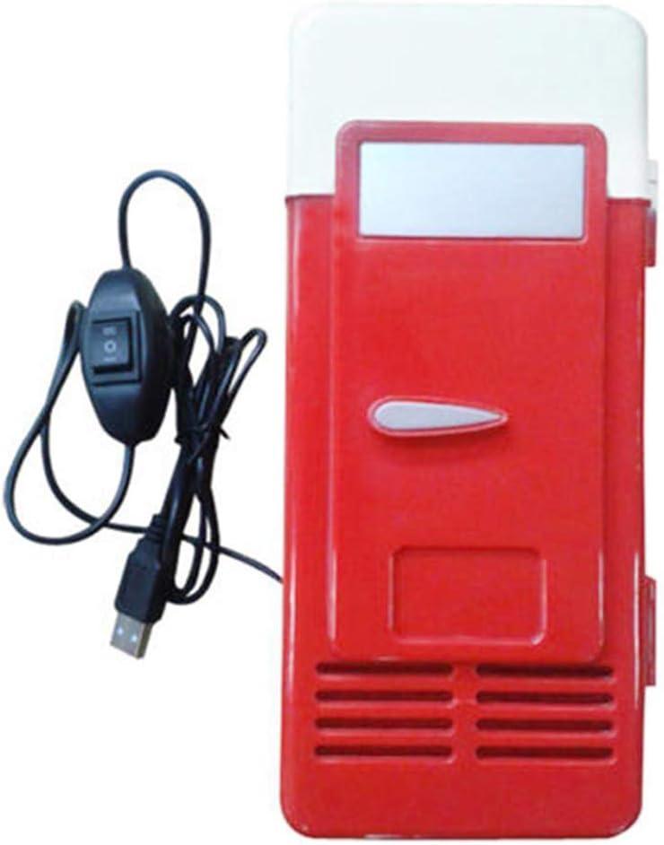 Herewegoo Mini USB Nevera Congelador Beber Cerveza Refrigerador ...
