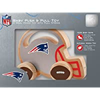 MasterPieces NFL New England Patriots Push & Pull Toy