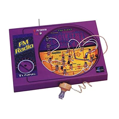 Maxitronix FM Radio Experiment Kit: Toys & Games
