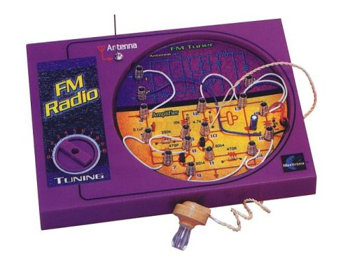 Elenco Snap Circuits Fm Radio - Maxitronix  FM Radio Experiment Kit