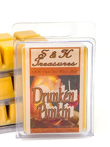 Drunken Punkin - Pure Soy Wax Melts - Halloween Scents - 1 pack (6 cubes) -