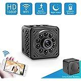 Spy Camera-Hidden Camera-Mini Camera-Nanny Cam-SOOSPY 1080P Wireless Wifi Spy Camera with Night Vision,Motion Detection,Detachable 500mAh Battery for Indoor Outdoor Use