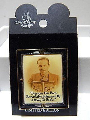 Disney Pin Limited Edition Picture Of Walt Disney