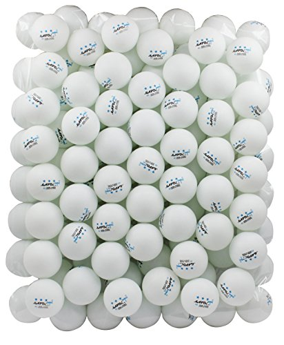 100 White 3 Star 40mm Table Tennis Balls Advanced Training