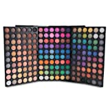 180 Colors Multicolored Eyeshadow Palette,Makeup Contouring Palette Kit