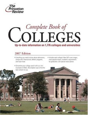Complete Colleges College Admissions Guides