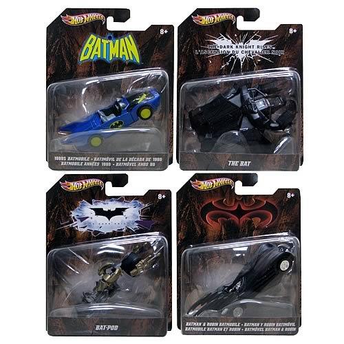 Batman Hot Wheels 1:50 Vehicles Wave 3 Case
