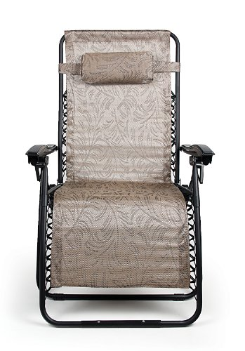 Anti Gravity Chair (Camco 51832 Zero Gravity Wide Recliner (X-Large, Tan Fern Pattern))