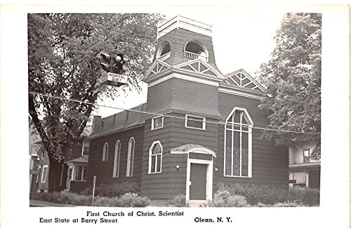 First Church of Christ Scientist Olean, New York postcard