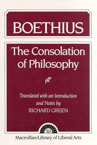 The Consolation of Philosophy: Boethius|-|002346450X