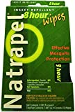 Natrapel Mosquito, Tick and Insect Repellent Wipes, 12 Individually-Wrapped Wipes