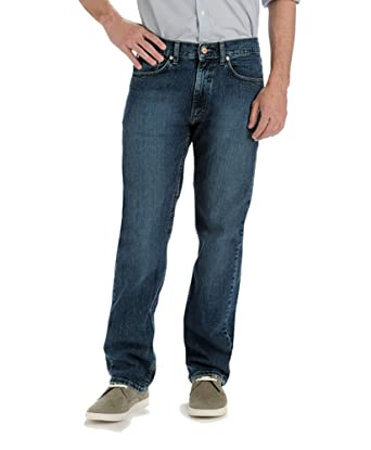 43798686ae8 LEE Jeans Men s Premium Select Regular Fit Straight Leg Jeans at Amazon  Men s Clothing store