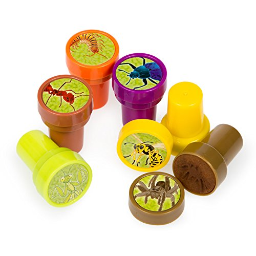 6 ~ Bug / Insect Stampers / Ink Stamps ~ New -