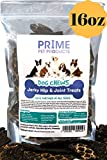 Healthy Jerky Dog Treats Made in USA - Source of Glucosamine Hip & Joint Supplement for Dogs - Best Grain Free Treat for Pain Relief - Beef Liver Formula All Breeds - No Corn, Soy or Wheat