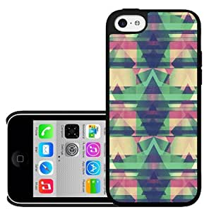 Mint, Pink and Yellow Tribal Pattern Hard Snap on Phone Case (iPhone 5c)