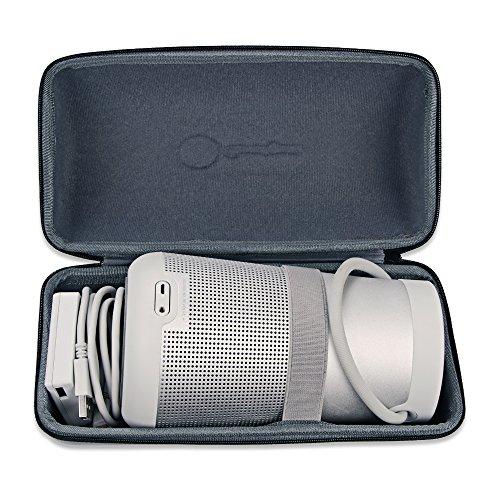 Bose SoundLink Revolve+ Plus Wireless Bluetooth Speaker Portable Hard Carrying Case Travel Bag (Black) by Esimen (Image #2)