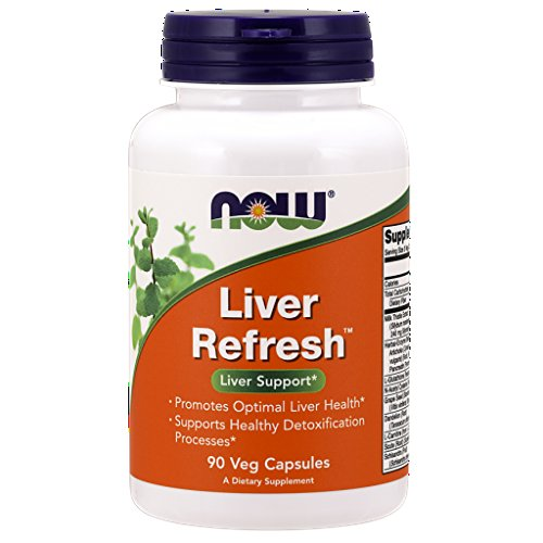 Now Foods Liver Refresh - 90 Veggie Capsules (Pack of 4) by NOW Foods