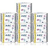 ABC 纤薄全日用卫生巾 超吸不闷热日用8片*10包