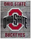 KH Sports Fan 16'' x 20'' Ohio State Buckeyes Road to Victory Collage Pallet Pride Plaque