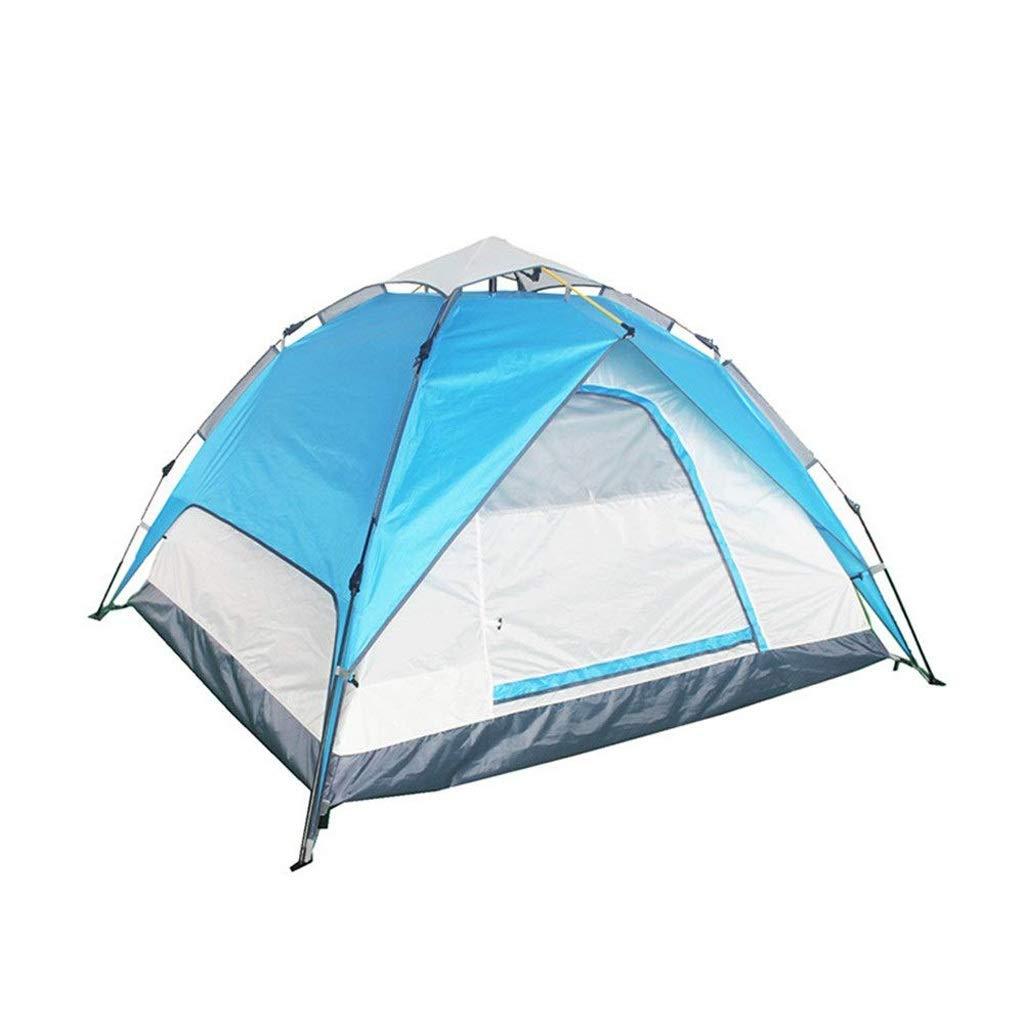 CATRP Marke Pop-up Automatik Hydraulisch Camping Zelt Wasserdicht Winddicht Multifunktion Kuppelzelt,Blau B07NZBHMB1 Kuppelzelte Das hochwertigste Material