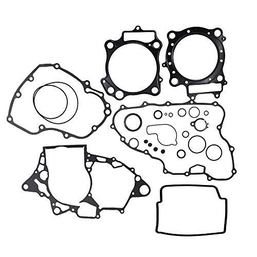 Top End Gasket Sets O-ring - TRX450ER Complete Gasket Kit Set Top Bottom End for Honda TRX450ER 2006-2014 TRX 450er