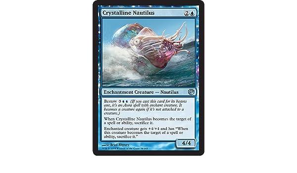 4 x Crystalline Nautilus Uncommon 34//165 - Journey into Nyx