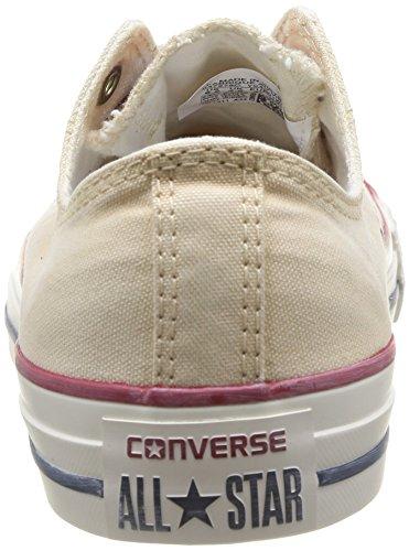 Converse Chuck Taylor All Star Wash Ox - Zapatillas de Deporte de canvas Unisex Blanco - Blanc (Blanc Cassé)