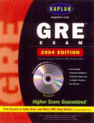 Kaplan GRE Exam 2004 with CD-ROM (Kaplan GRE - Gre Premier Program