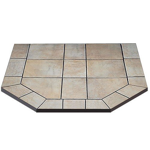 American Panel 40 dl c Carmel Tile Double Cut Stove Board 40 Inch x 40 Inch (American Panel Carmel Tile)