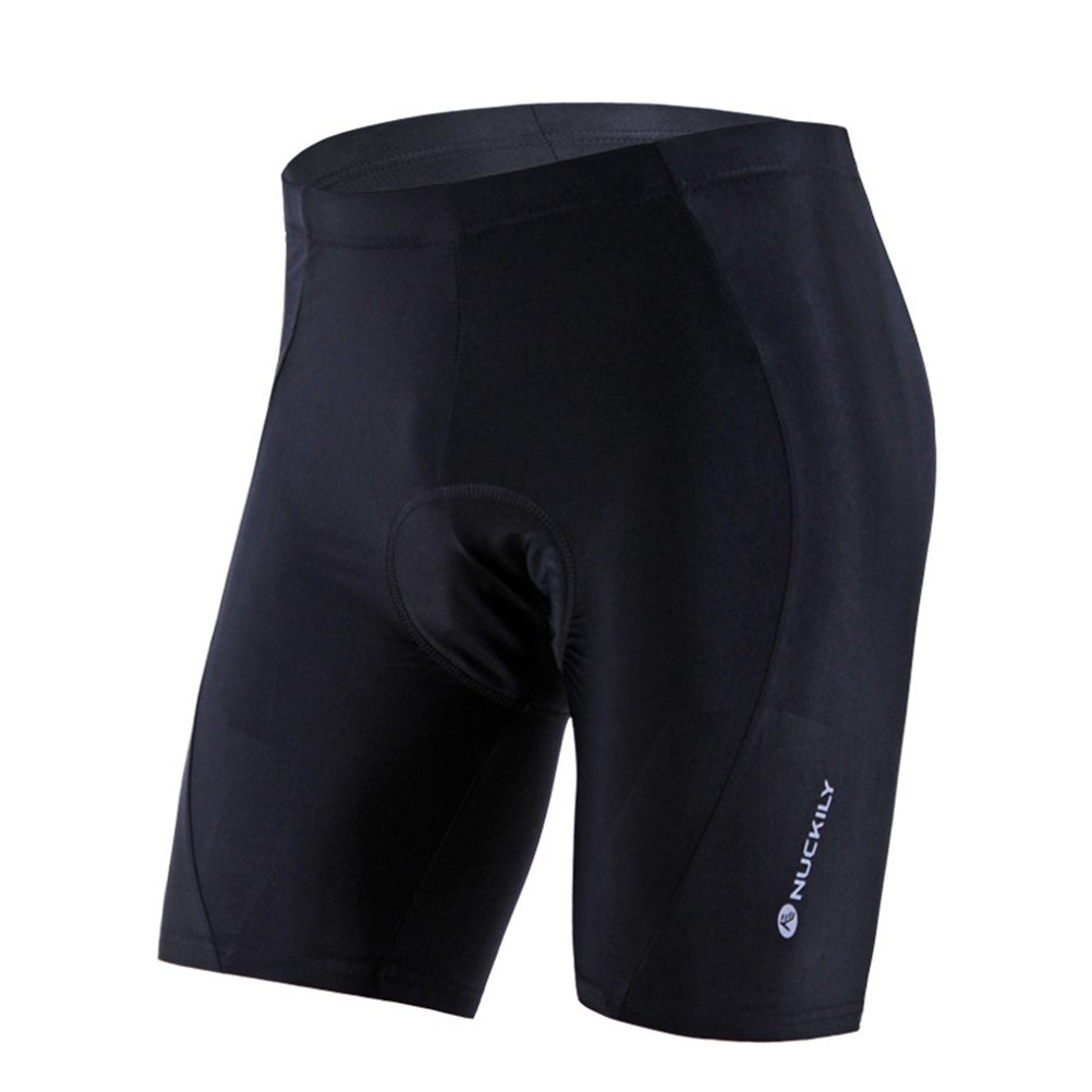 Women Breathable Bike Shorts, Cycling Shorts with 3D Gel Pad Black VORCOOL