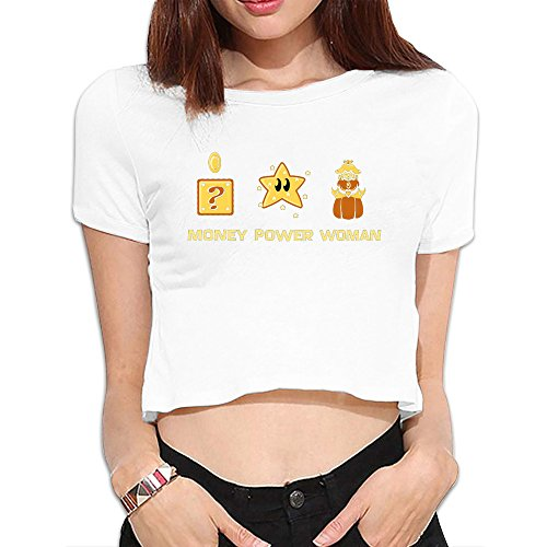 Money Girls T-shirt - Girls Quotes Funny Money Dew Navel Tee Shirt