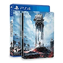 Star Wars: Battlefront & SteelBook (Amazon Exclusive) - PlayStation 4