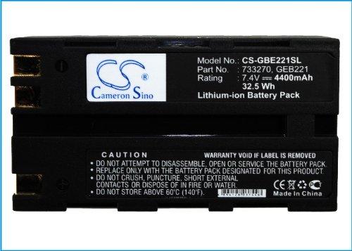 Cameron Sino 4400 mAh Li-ion High-Capacity Replacement Batteries for GEOMAX ZT80+, Stonex R6, Leica ATX1200, GRX1200, Piper 100, Piper 200, fits GEOMAX ZBA200, ZBA400, Leica 724117 by Cameron Sino (Image #5)