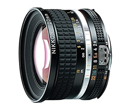 Amazon com : Nikon NIKKOR 20mm f/2 8 Manual Focus Wide-Angle Lens