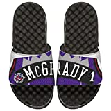 NBA Toronto Raptors Tracy McGrady Retired Player Islides Jersey, White/Black, 9