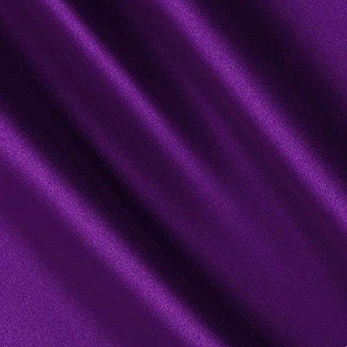 - Purple Satin Fabric 60
