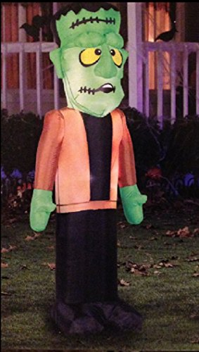 HALLOWEEN INFLATABLE 6' FRANKENSTEIN YARD PROP DECORATION by Airblown Inflatable