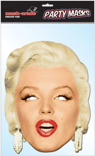 Marilyn Monroe Diamonds Celebrity Face Mask (máscara/careta ...