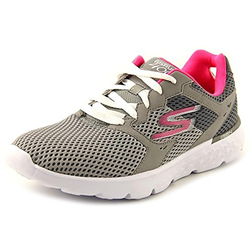 Gray Hot Velocity de Go Chaussures 400 Run Running Femme Skechers Pink And Sx8Xqvt