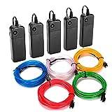 Best El Wires - INS EL Wire Kit, 9Ft Portable Neon Lights Review