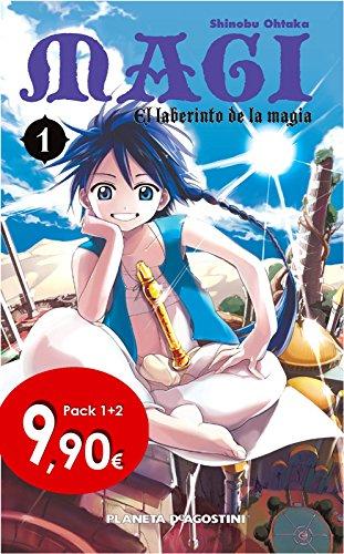 Pack Magi El laberinto de la magia nº 01+nº 02 Manga Shonen: Amazon.es: Ohtaka, Shinobu: Libros