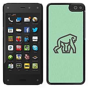 LECELL--Funda protectora / Cubierta / Piel For Amazon Fire Phone -- Gorila --