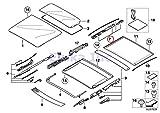 x5 lift kit - BMW Genuine Panoramic Roof Sunroof Repair Kit For Sunroof Glass Rear X5 3.0i X5 4.4i X5 4.8is 530xi 535xi 325xi 328i 328xi 328i 328xi