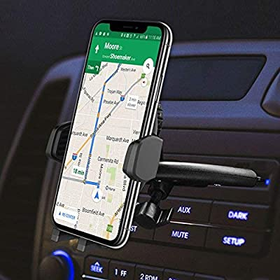 Moto E Nexus 5X Cellet Air Vent Magnetic Car Mount Highly-Adjustable Phone Holder for iPhone X// 8 // 8 Plus Galaxy Note 8// Note 5 HTC and LG V30 RHVMAG100 OnePlus X Samsung Galaxy S9// S9 Plus