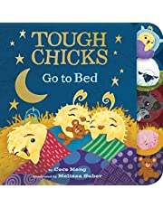 Tough Chicks Go to Bed (tabbed touch-and-feel board book)