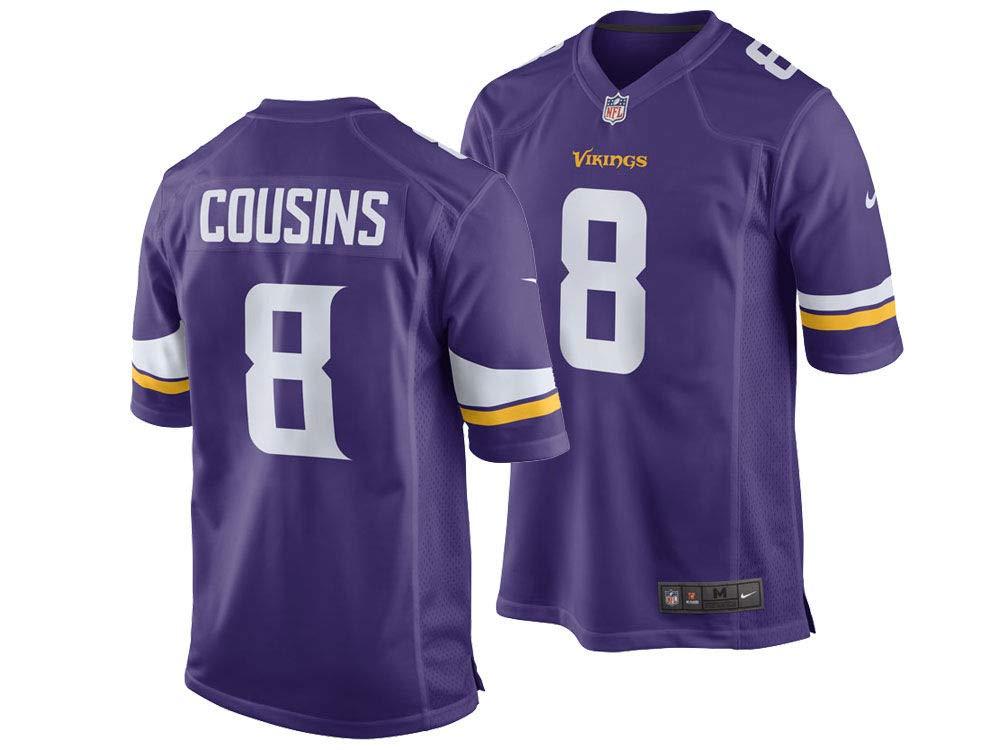 new concept cd288 86a82 Amazon.com : NIKE Minnesota Vikings Kirk Cousins Men's NFL ...