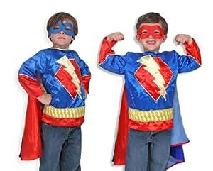 Melissa & Doug - Disfraz de superhéroe para niños (14788)