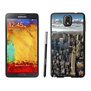NEW Custom Designed For SamSung Galaxy S4 Mini Case Cover Phone With New York City Skyline Clouds_Black Phone