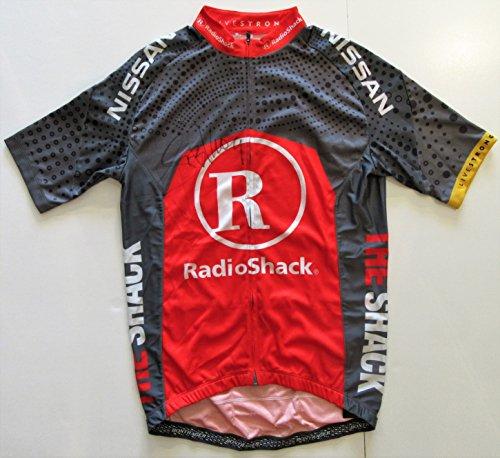 Lance Armstrong Autographed Tour de France Jersey (Radio Shack). BAS COA. ()