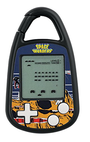 Classic Space Invaders Game (Space Invaders Electronic Carabiner Game )